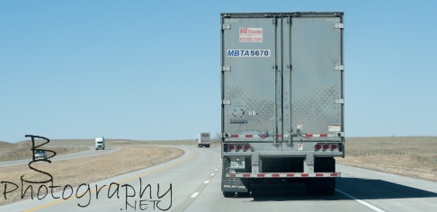 100's of miles behind this truck... 100s!!!